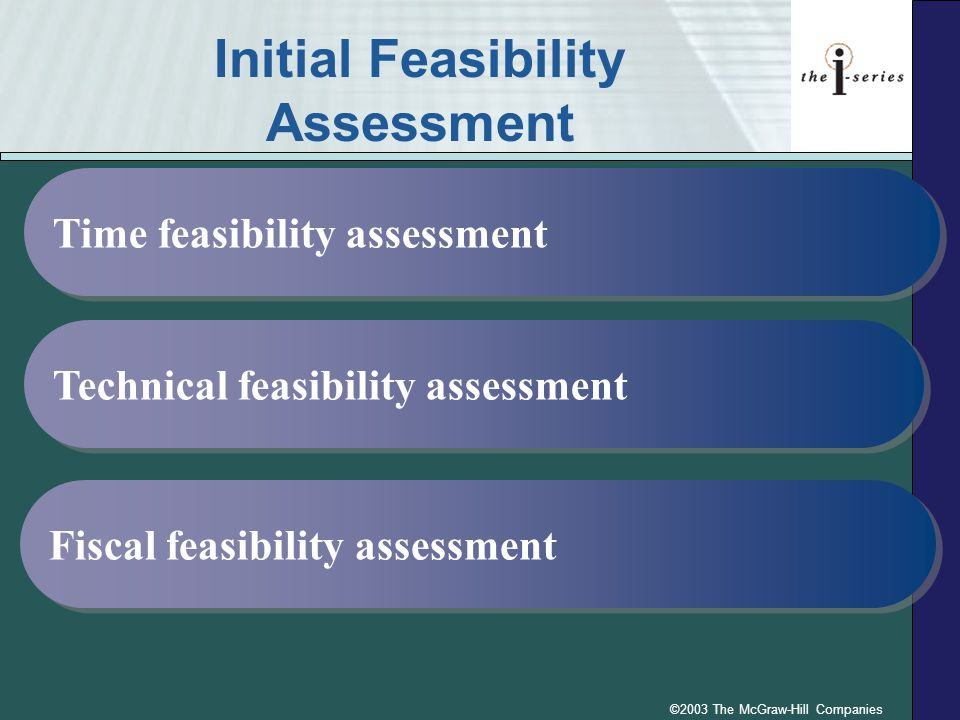Initial Feasibility Assessment