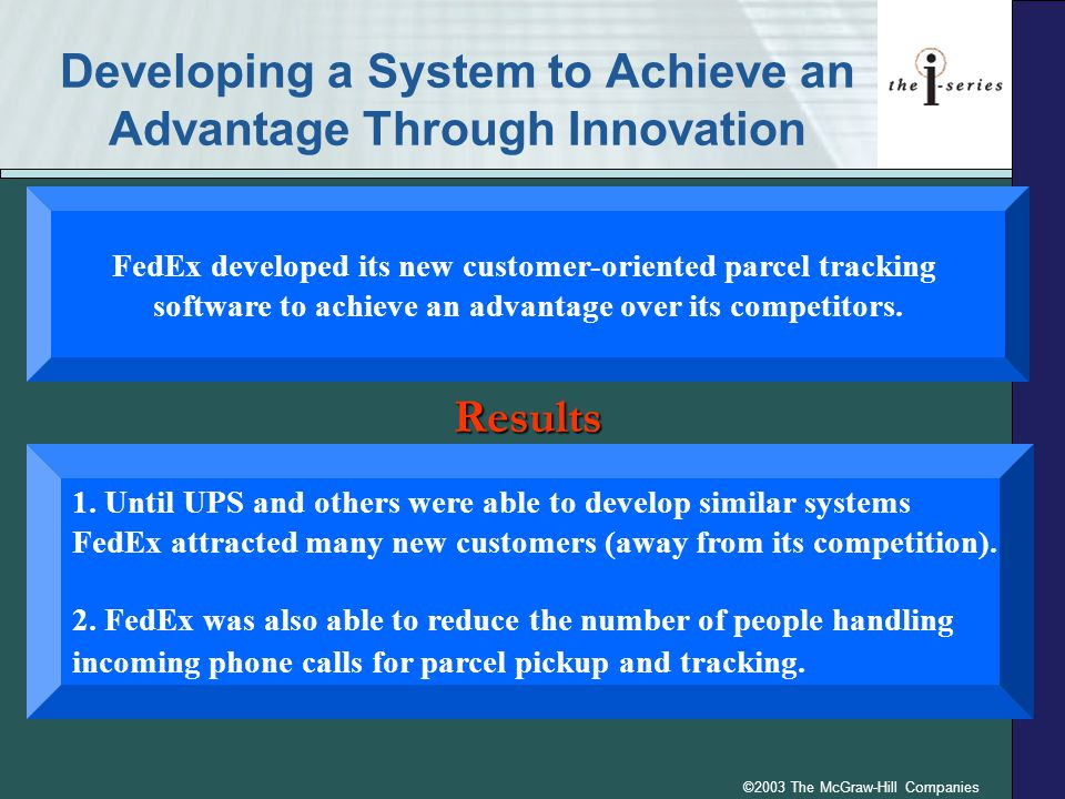 Developing a System to Achieve an Advantage Through Innovation