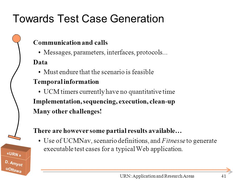 Towards Test Case Generation