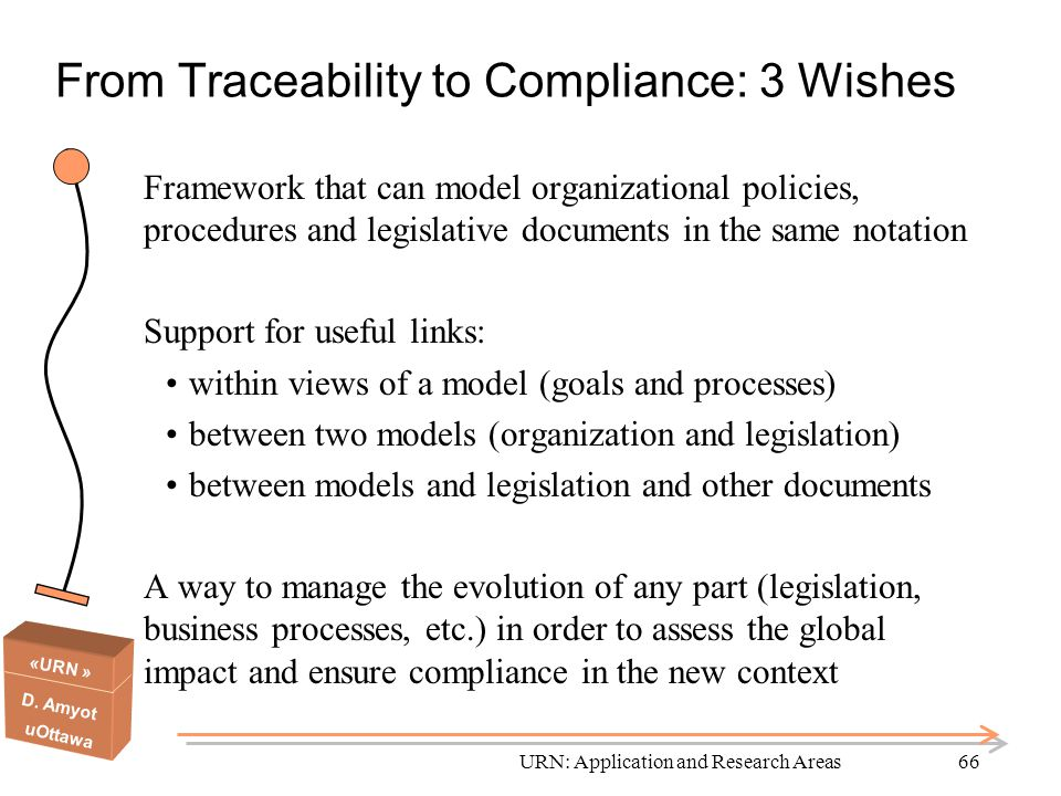 From Traceability to Compliance: 3 Wishes