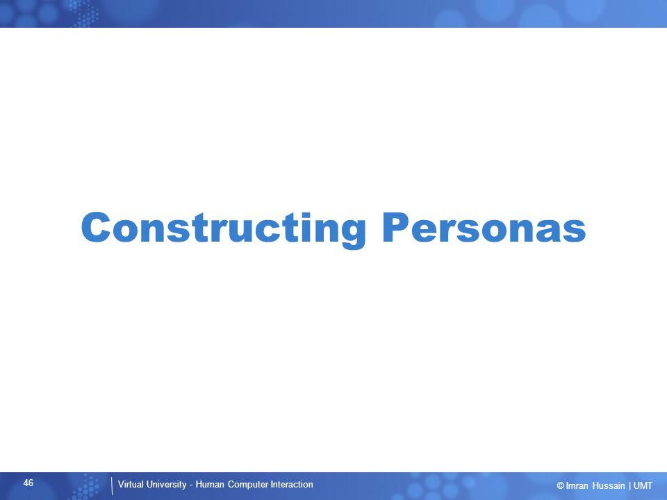 Constructing Personas