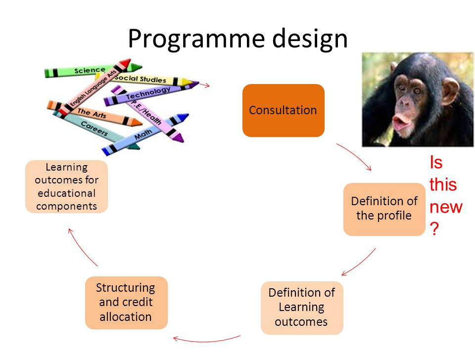 Programme design Is this new Consultation Definition of the profile