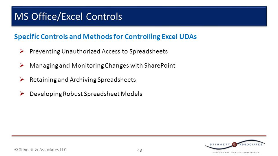 MS Office/Excel Controls