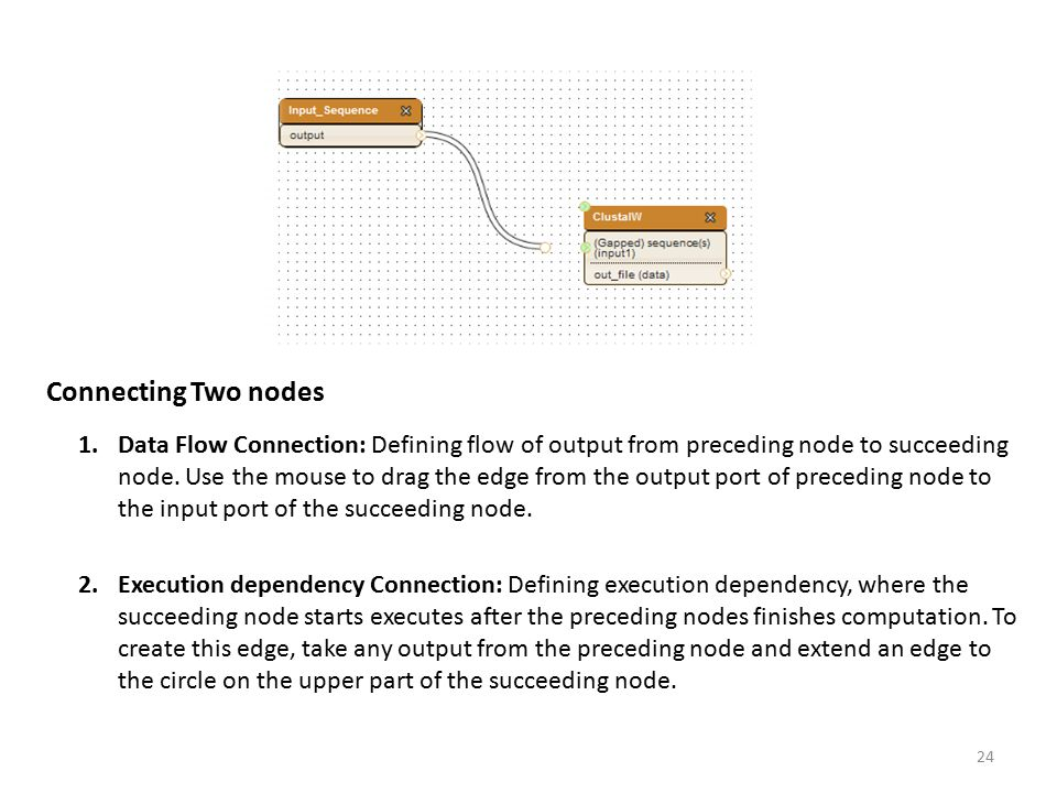 Connecting Two nodes