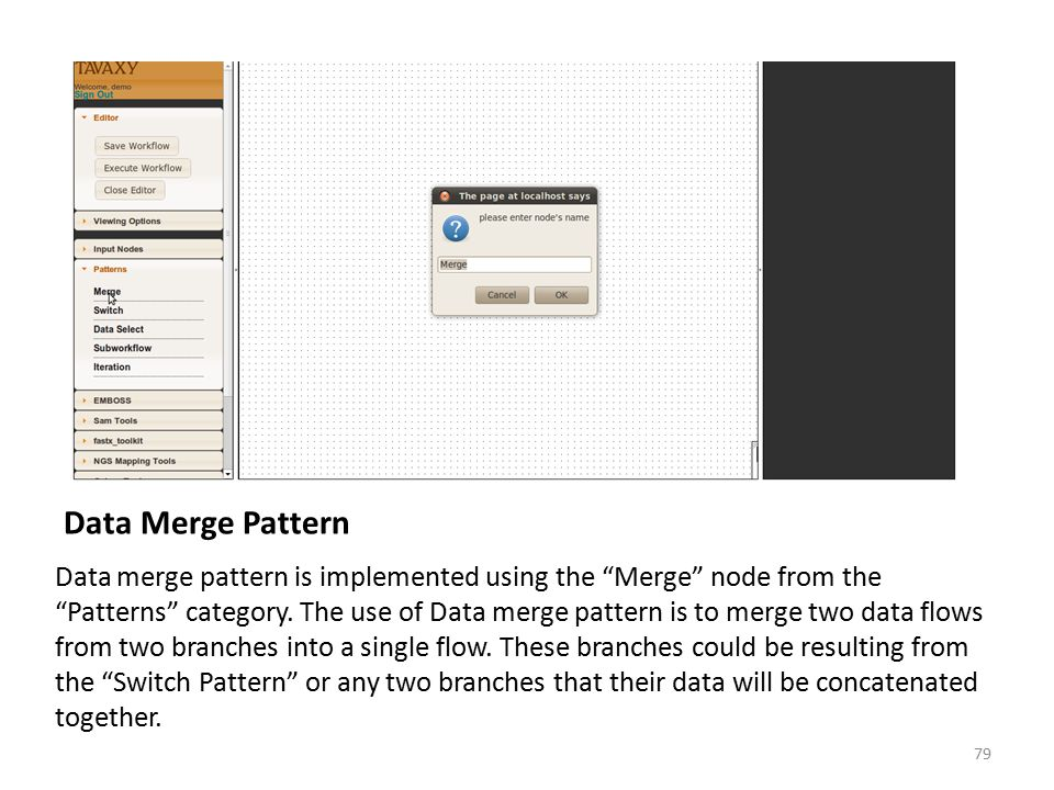 Data Merge Pattern