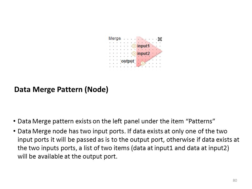 Data Merge Pattern (Node)