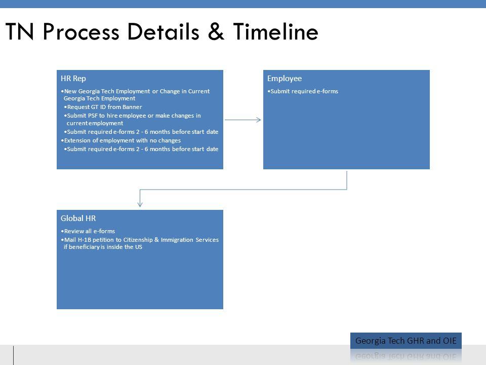 TN Process Details & Timeline