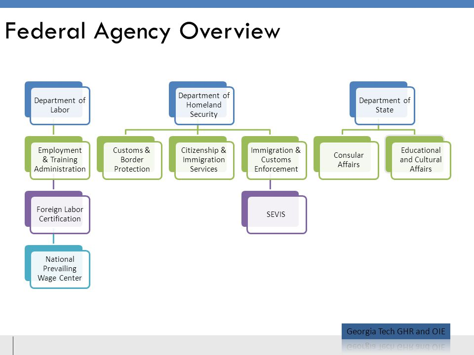 Federal Agency Overview