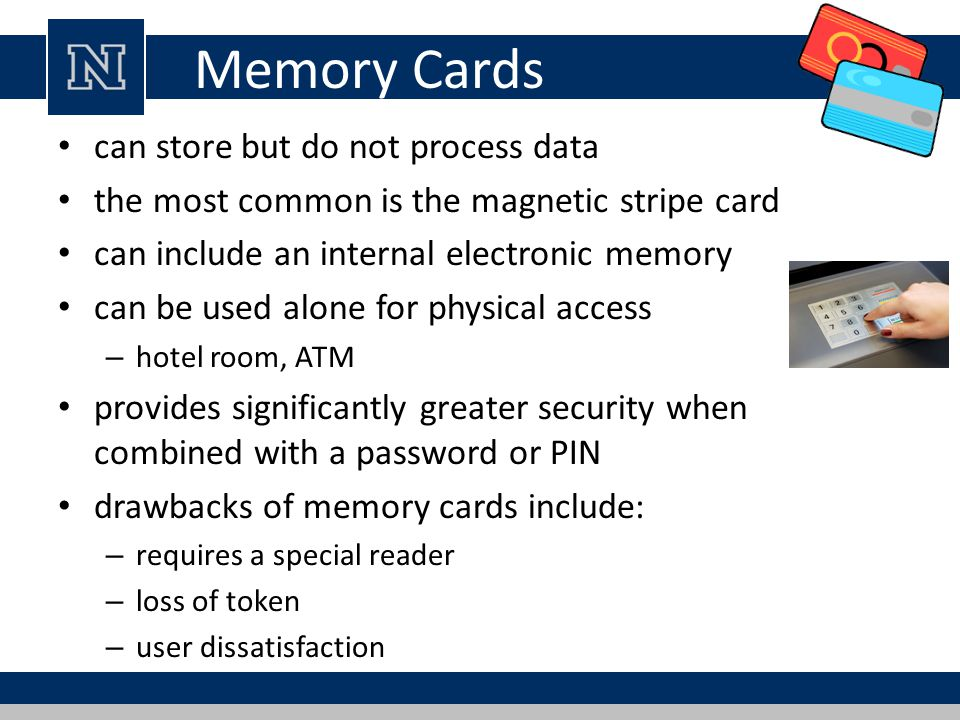 Memory Cards can store but do not process data