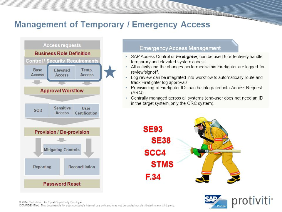 Management of Temporary / Emergency Access