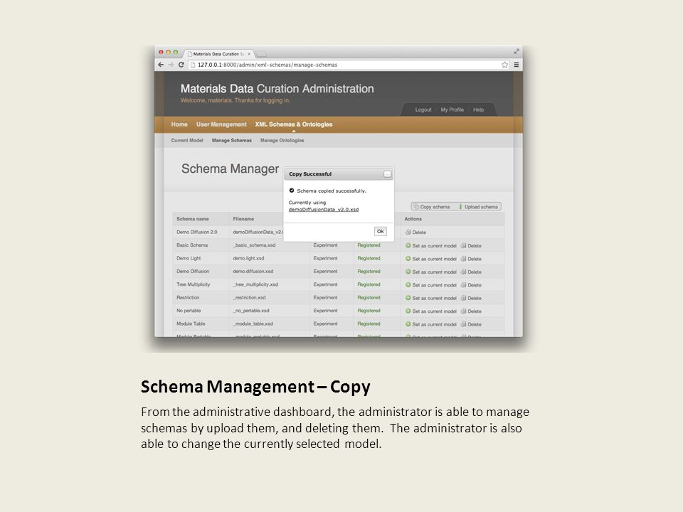 Schema Management – Copy