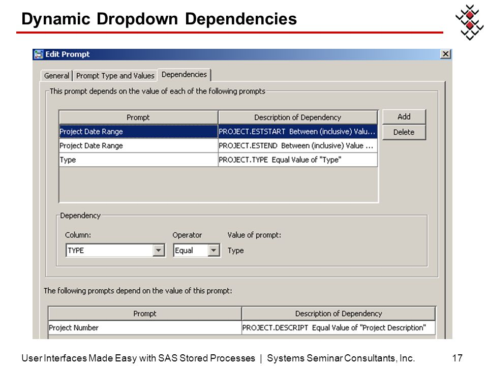Dynamic Dropdown Dependencies