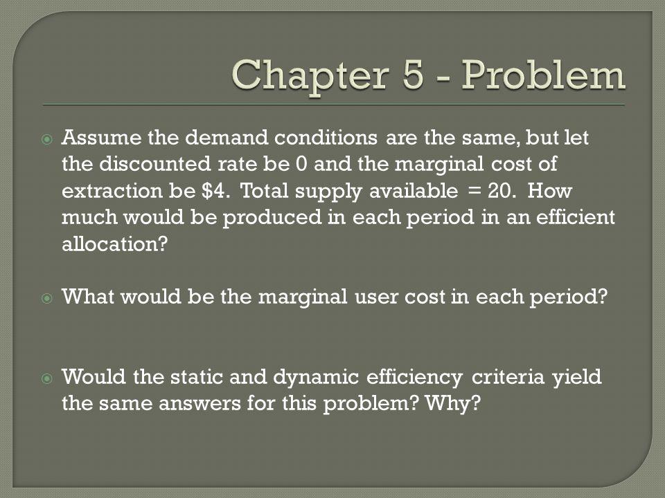 Chapter 5 - Problem