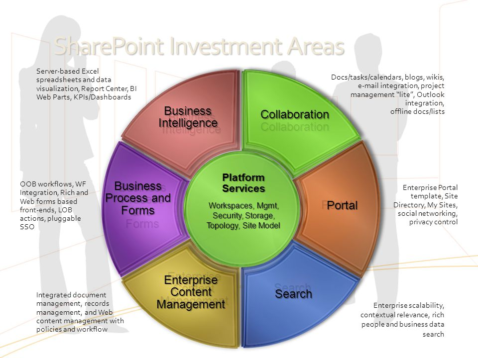 SharePoint Investment Areas