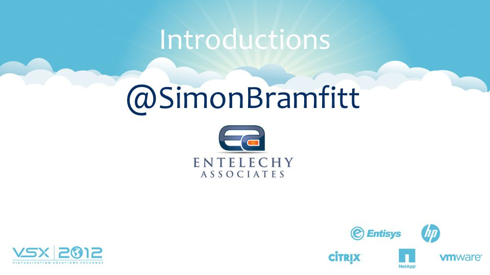 @SimonBramfitt Introductions