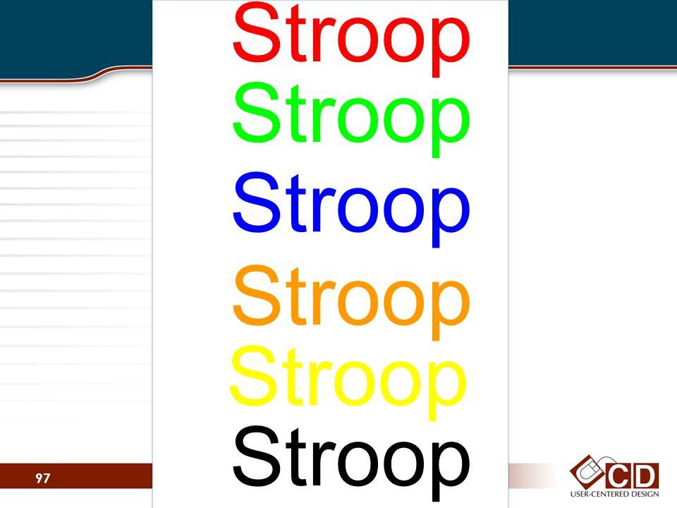 Stroop Stroop Stroop Stroop Stroop Stroop