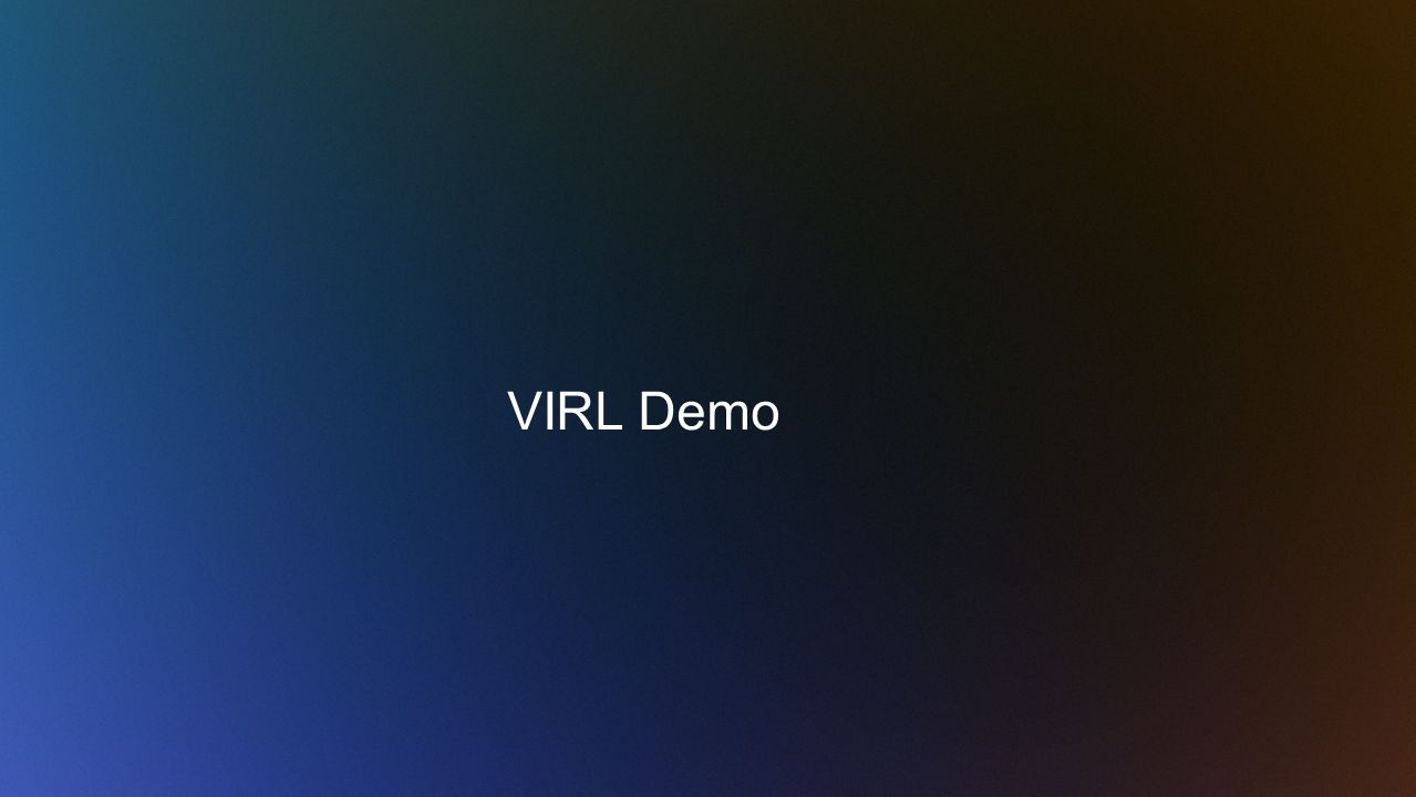 VIRL Demo
