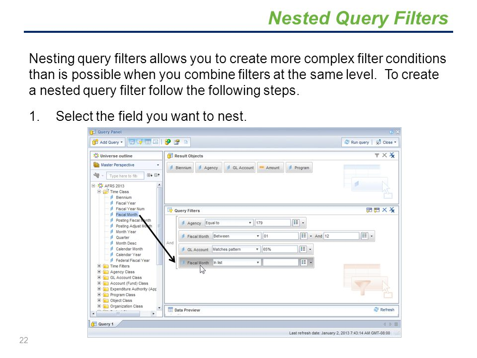 Nested Query Filters