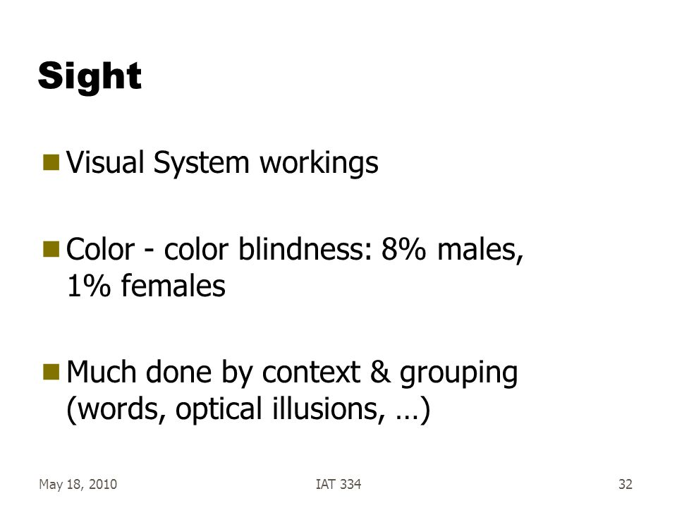 Sight Visual System workings