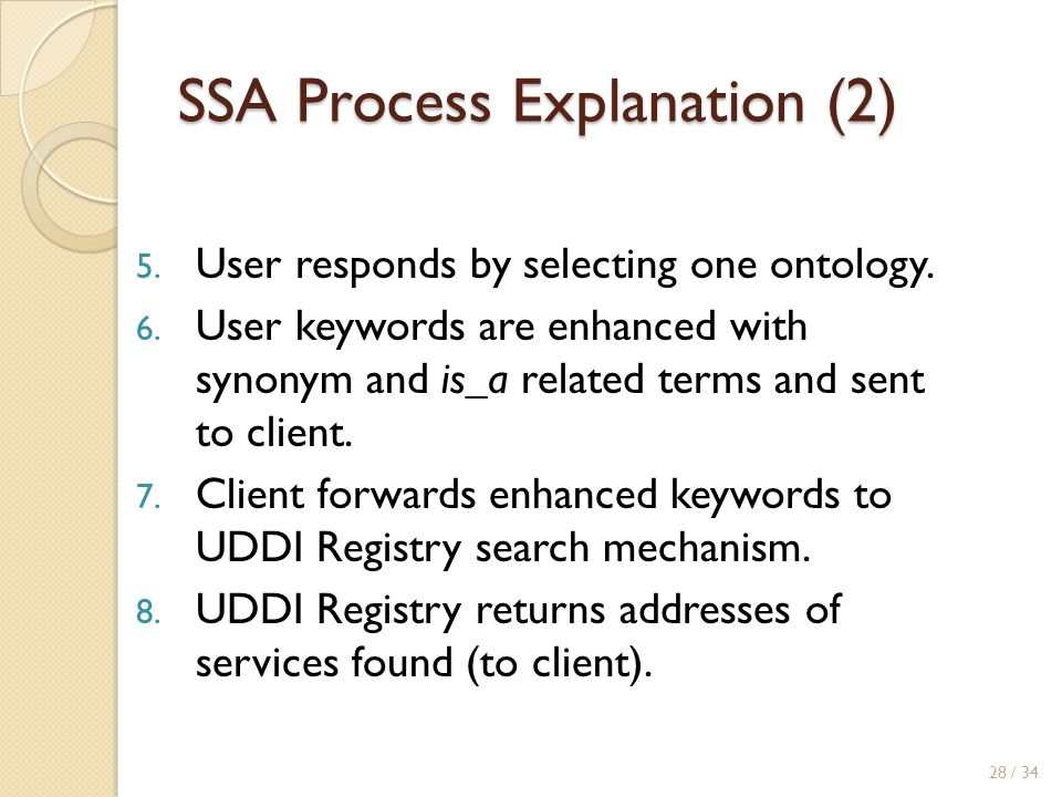 SSA Process Explanation (2)