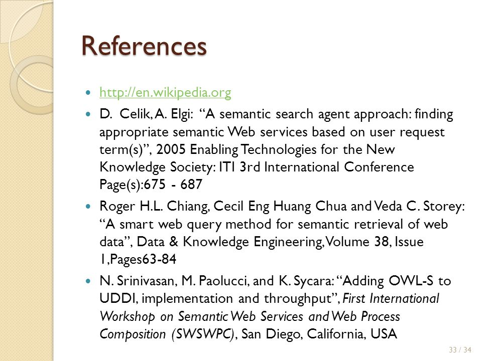 References http://en.wikipedia.org