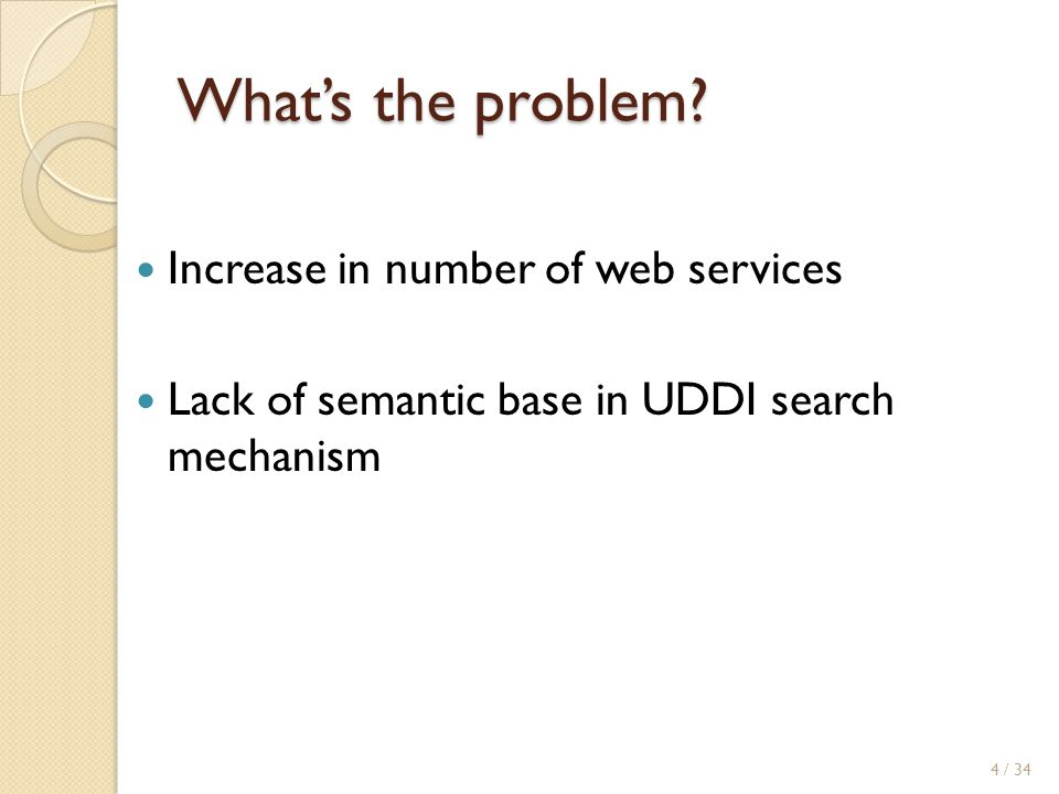 What's the problem Increase in number of web services