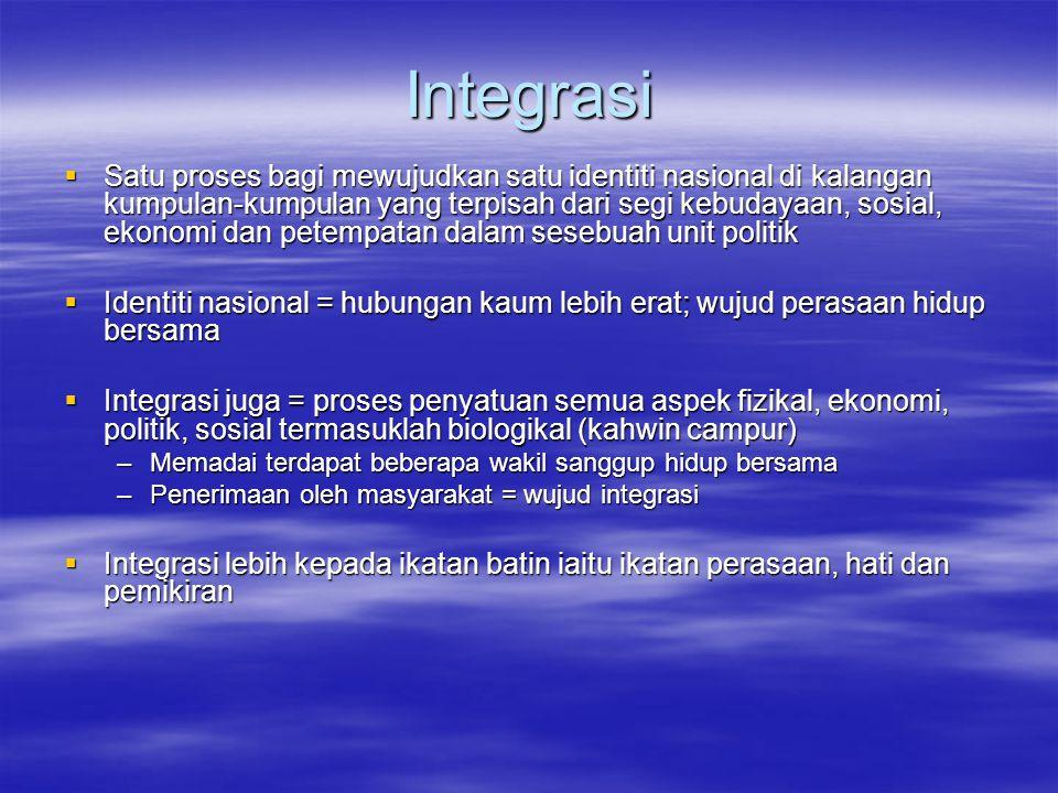 Integrasi