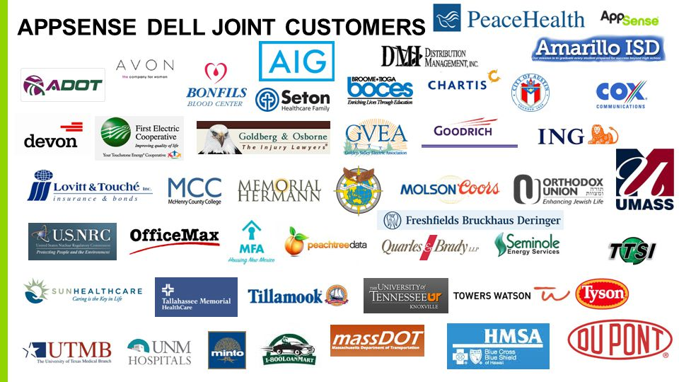 AppSense Dell Joint Customers