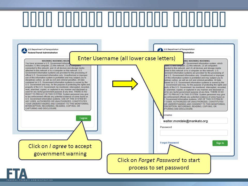 LSUM Starts Password Process