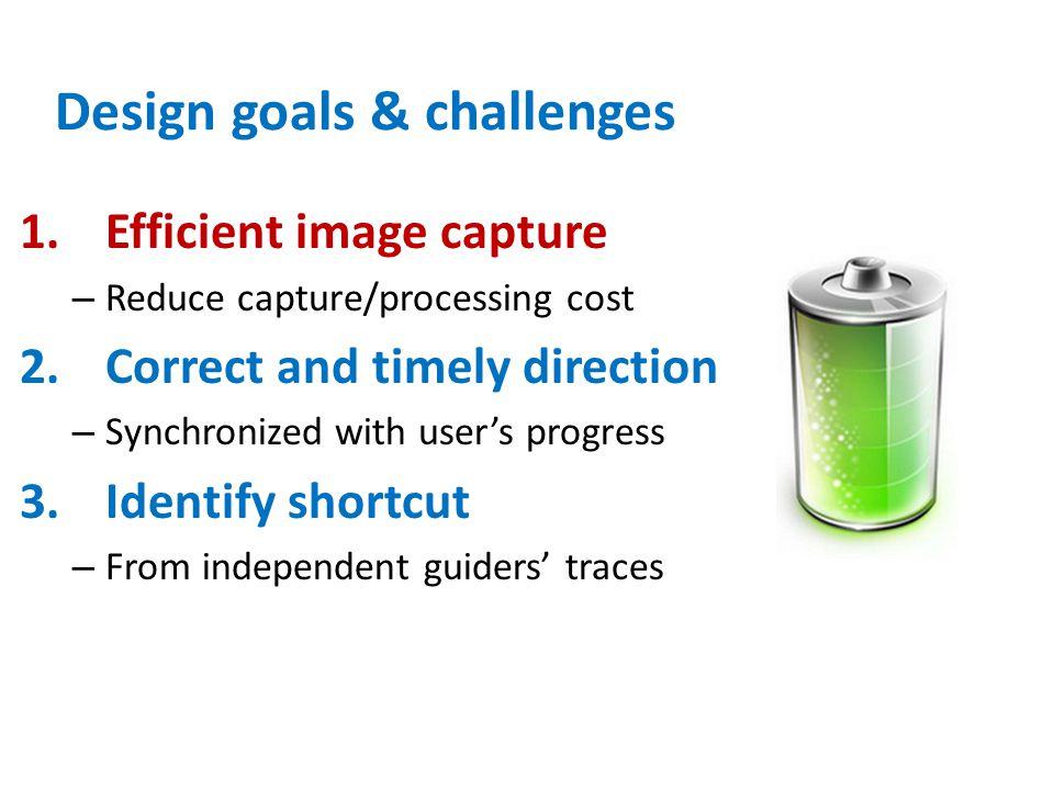 Design goals & challenges