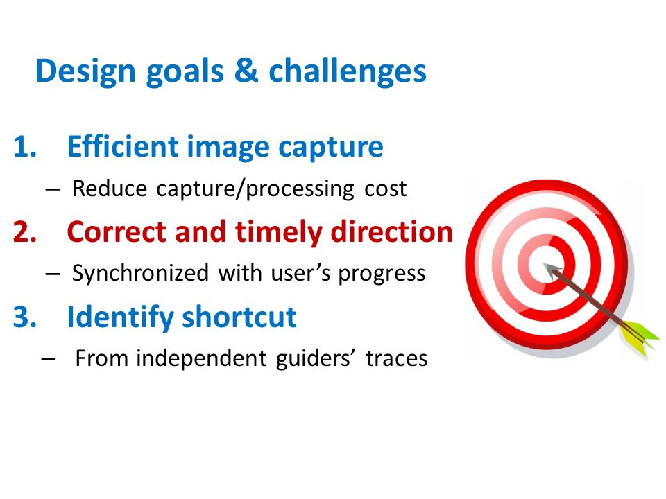 Design goals & challenges