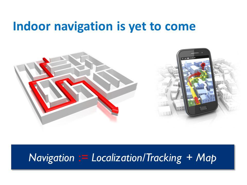 Indoor navigation is yet to come