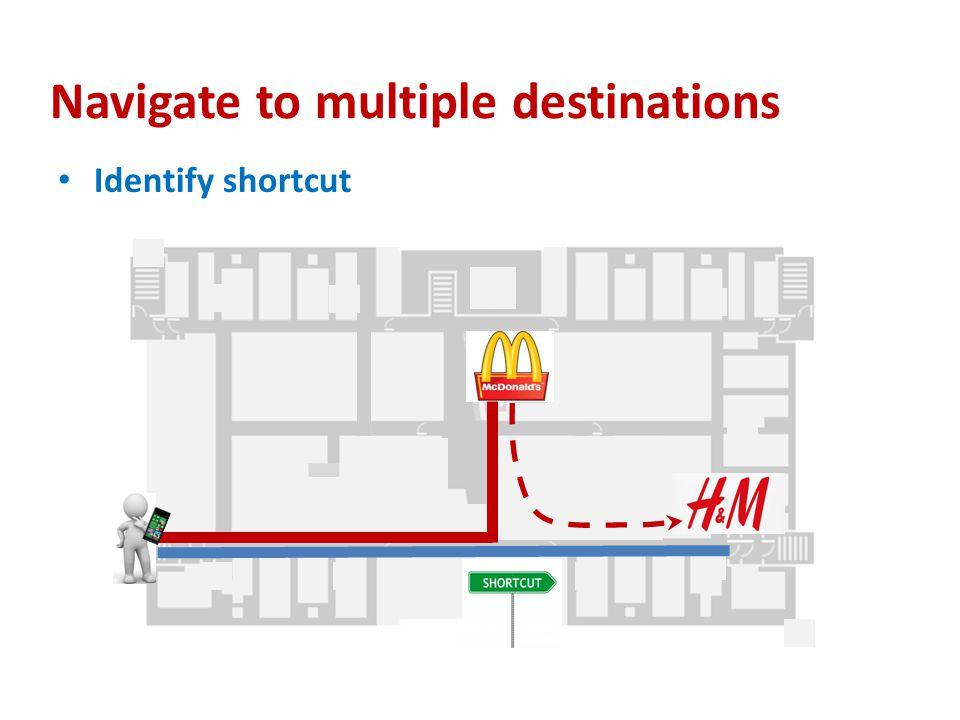 Navigate to multiple destinations