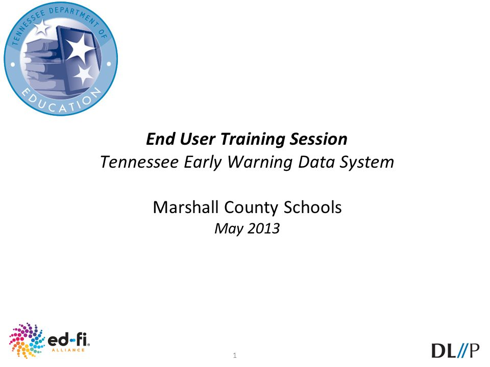 End User Training Session
