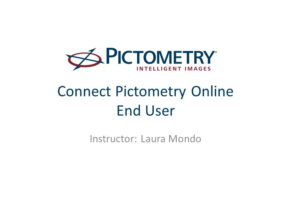 Connect Pictometry Online End User