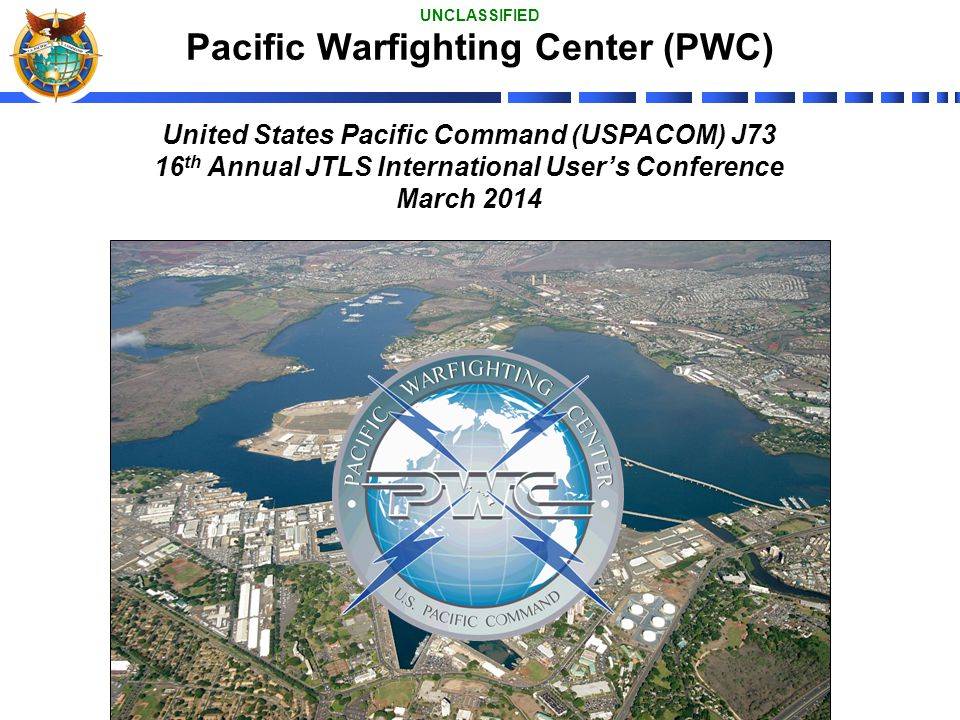 Pacific Warfighting Center (PWC)