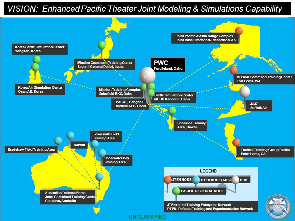 VISION: Enhanced Pacific Theater Joint Modeling & Simulations Capability