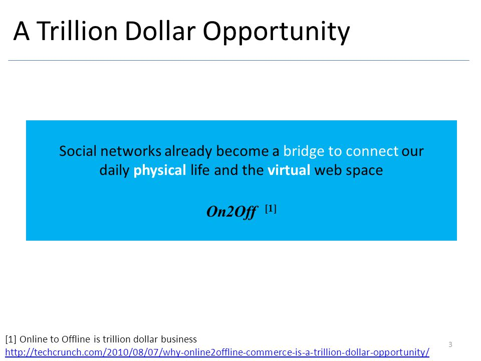 A Trillion Dollar Opportunity