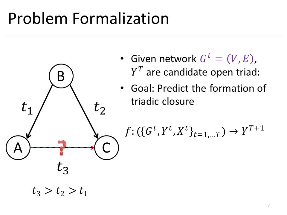 Problem Formalization