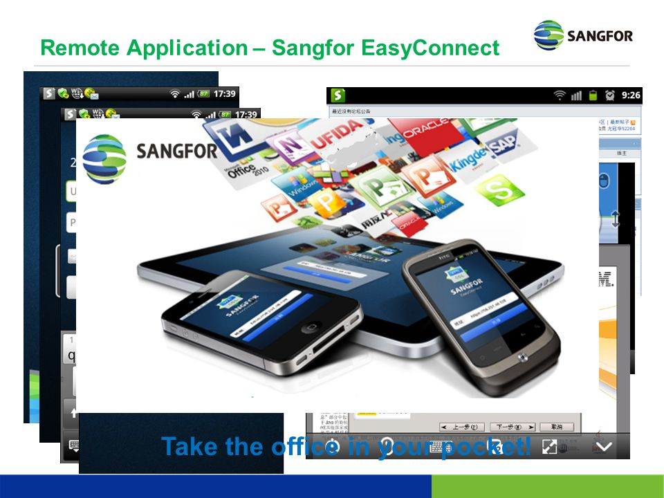 Remote Application – Sangfor EasyConnect
