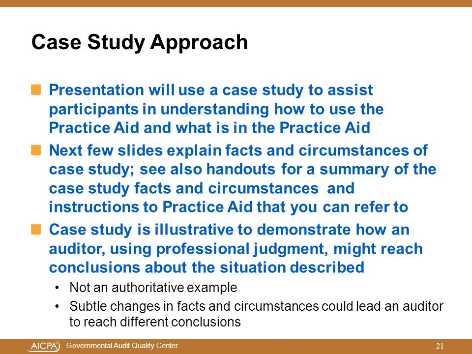 Case Study Approach