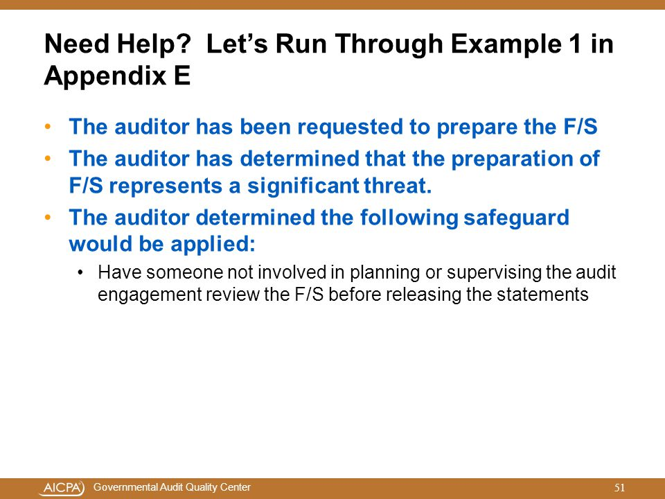 Need Help Let's Run Through Example 1 in Appendix E