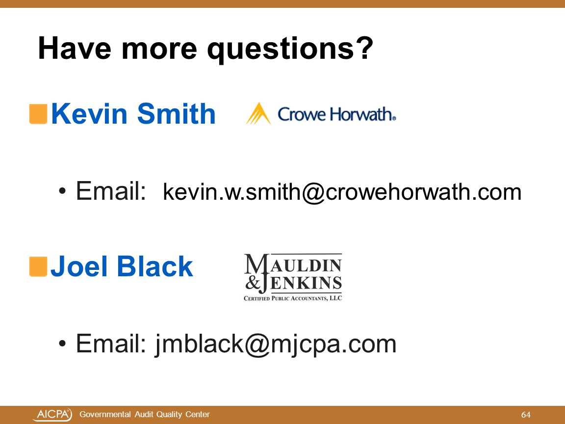 Have more questions Kevin Smith Joel Black