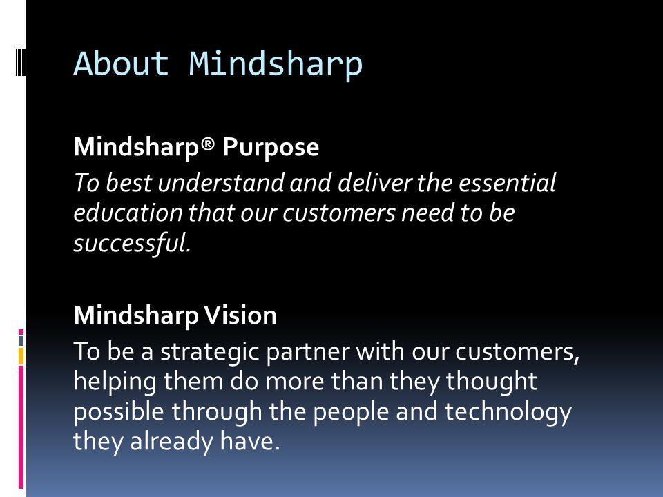 About Mindsharp