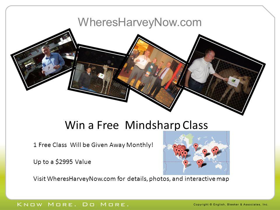 Win a Free Mindsharp Class