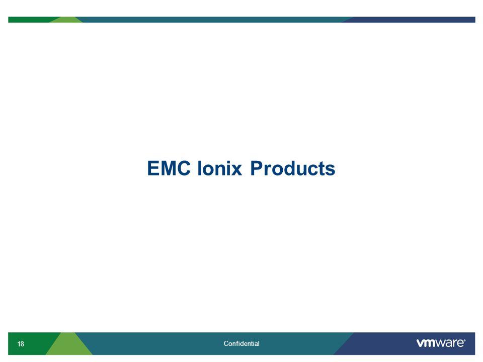 EMC Ionix Products