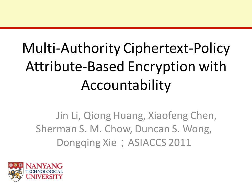 Multi-Authority Ciphertext-Policy Attribute-Based Encryption with Accountability