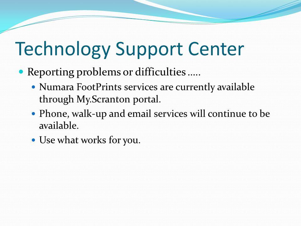 Technology Support Center