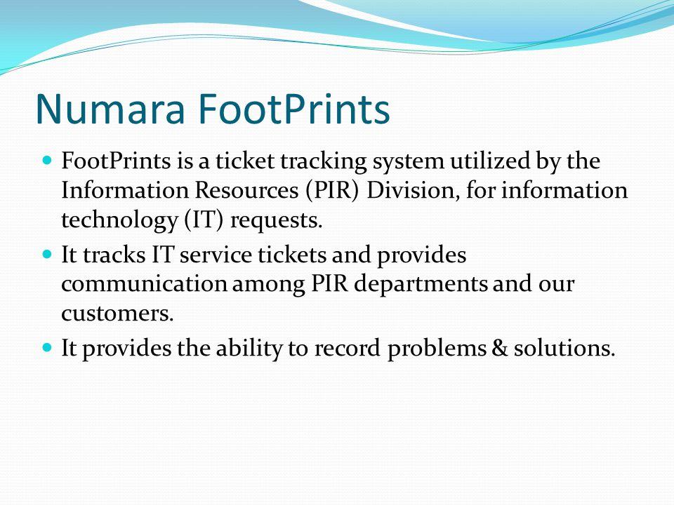 Numara FootPrints