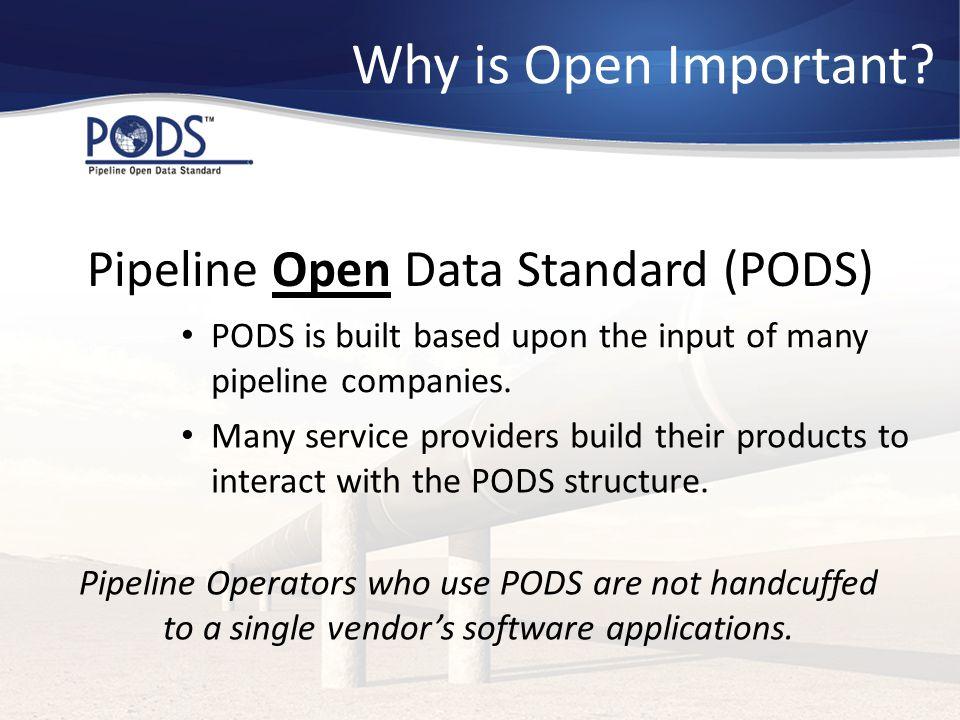 Pipeline Open Data Standard (PODS)